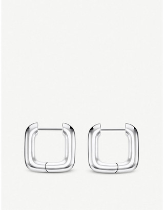 Thomas Sabo Heritage sterling silver squared hoop earrings