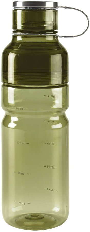 OXO Good Grips Liquiseal Plastic Water Bottle, Olive Green