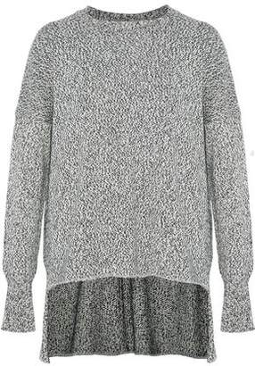 ADAM by Adam Lippes Marled Cotton Cashmere And Silk-Blend Sweater