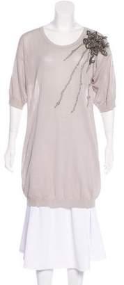 Valentino Embellished Knit Top