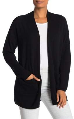 Magaschoni M Open Front Cashmere Cardigan