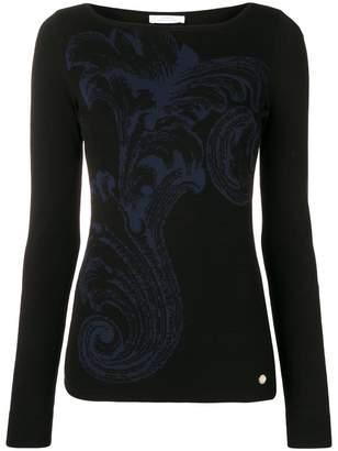 Versace baroque design jumper