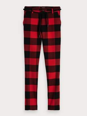 Scotch & Soda Lumberjack Check Trousers