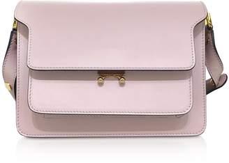 Marni Quartz Saffiano Leather Trunk Shoulder Bag