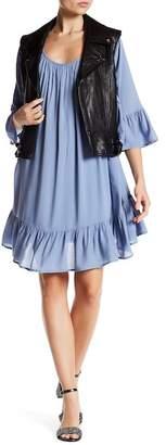 BB Dakota Cory Flounce Hem Dress