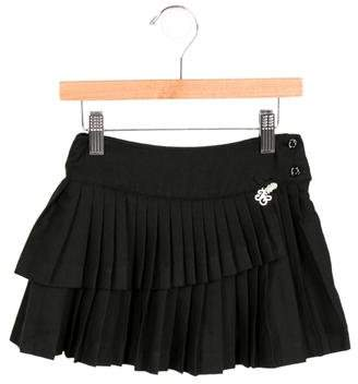 Tartine et Chocolat Girls' Pleated A-Line Skirt w/ Tags