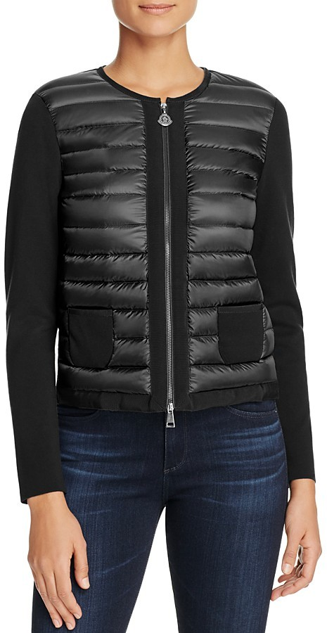 MonclerMoncler Quilted-Front Cardigan