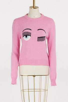 Chiara Ferragni Flirting knit sweater