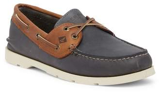 Sperry Leeward Leather 2-Eye Boat Shoe