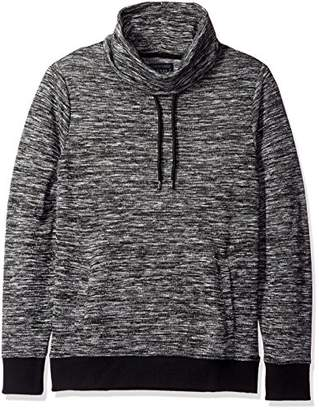 GUESS Men's Funnel Neck Knit