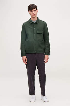 Cos COTTON-TWILL SHIRT JACKET