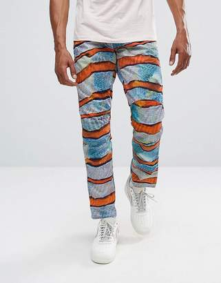 G Star G-Star Elwood 5622 X 25 Pharrell Jeans In Stripe