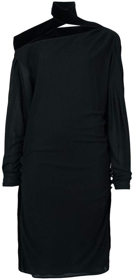 Tom Ford off shoulder ruched dress
