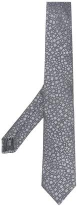 Lanvin pointed square tie