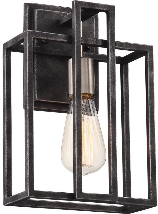 Cambridge SilversmithsCambridge 1-Light Iron Black Bath Light