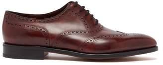 John Lobb Stowey Leather Brogues - Mens - Brown