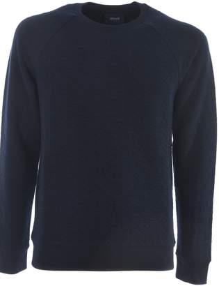 Armani Jeans Eagle Embossed Sweatshirt