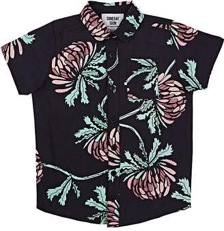 Someday Soon Kids' Miles Floral Woven Shirt
