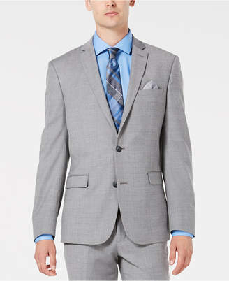 Bar III Men's Slim-Fit Stretch Flannel Suit Jacket