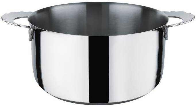 Alessi Dressed, casserole with two handles