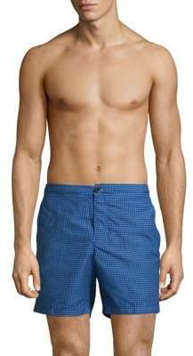 Ben Sherman Retro Geo Print Tailored Swim Shorts