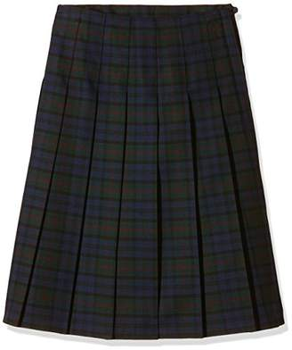 Trutex Girl's GST-JUB-L20-W32 SNR Tartan Kilt Checkered Skirt,(Manufacturer Size:32)