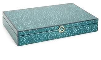 Jonathan Adler Toulouse Valet Box - Blue