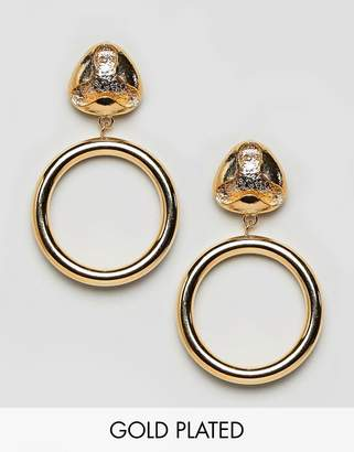 Gogo Philip Gogo Philipp drop hoop earrings
