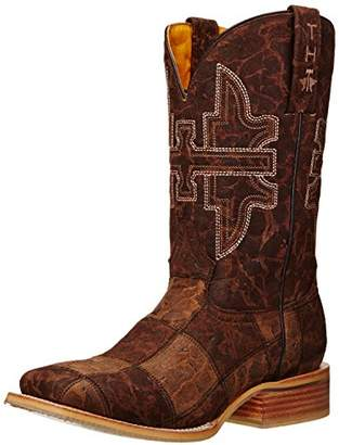 Tin Haul Shoes Men's Million Dollar Check Western Boot
