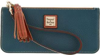 Dooney & Bourke Pebble Leather Tatum Wristlet