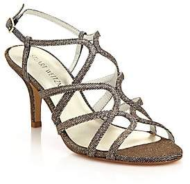 Stuart Weitzman Women's TurningUp Metallic Sandals