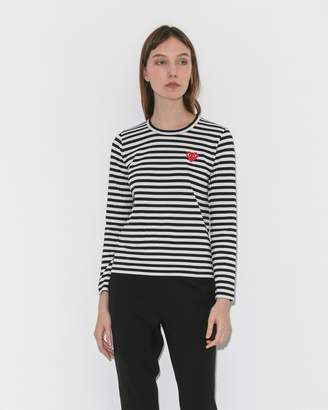 Comme des Garcons Striped Long Sleeve Tee