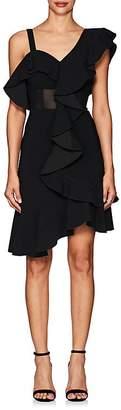 Proenza Schouler WOMEN'S RUFFLED CADY ONE-SHOULDER DRESS