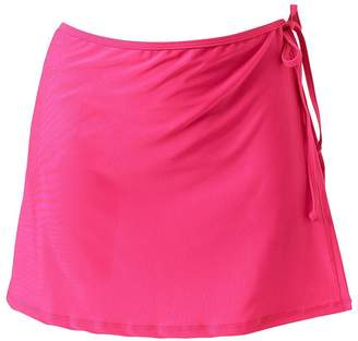 LINGMIN Women's Active Tennis Skirt Athletic Sports Workout Skirts with Side Lace up