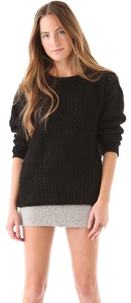 Minkpink Have a Yarn Sweater
