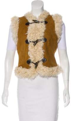 Joie Shearling Lined Vest w/ Tags