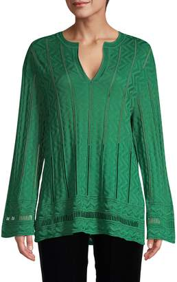 M Missoni Knit Virgin-Wool Blend Pullover
