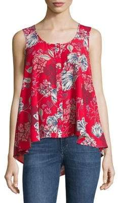 Style&Co. Style & Co. Exotic Bouquet Tank Top
