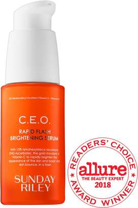 SUNDAY RILEY C.E.O. Rapid Flash Brightening Serum $85 thestylecure.com