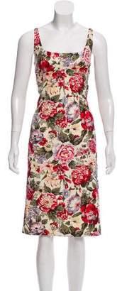 Dolce & Gabbana Floral Sheath Dress