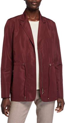 Lafayette 148 New York Porsha Drawstring Waist Jacket