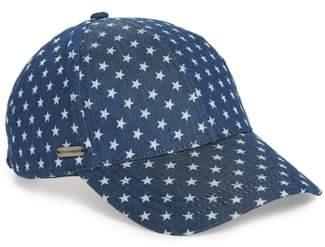 Steve Madden Lucky Stars Baseball Cap