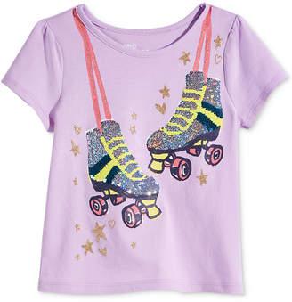 Epic Threads Toddler & Little Girls Flip Sequins Roller Skates T-Shirt