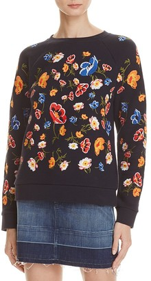 Whistles Embroidered Sweatshirt $180 thestylecure.com