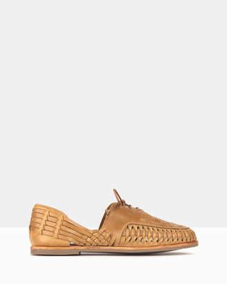 betts Chain Leather Huarache Shoes