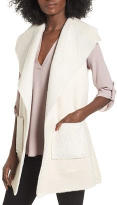 Women's Love Token Faux Shearling Vest $120 thestylecure.com