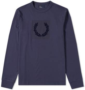 Fred Perry Authentic Long Sleeve Tonal Laurel Wreath Tee