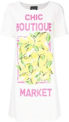 Moschino graphic print T-shirt dress