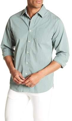 Grayers Somerville Windowpane Print Regular Fit Woven Shirt