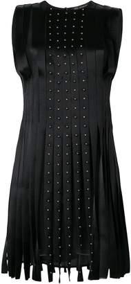 Versace pleated studded dress